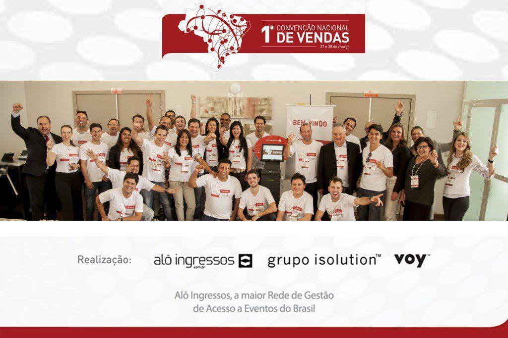 I Convenção de Vendas - Alô Ingressos