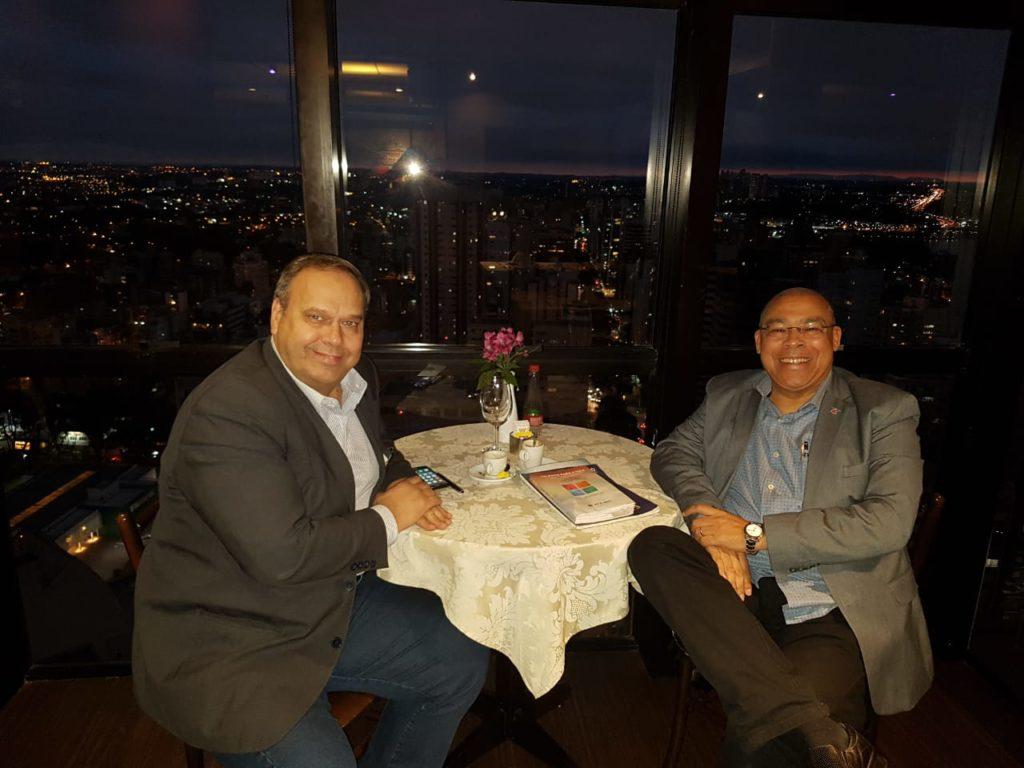 Com o amigo e parceiro de negócios José Agnaldo JAS - ETALENT