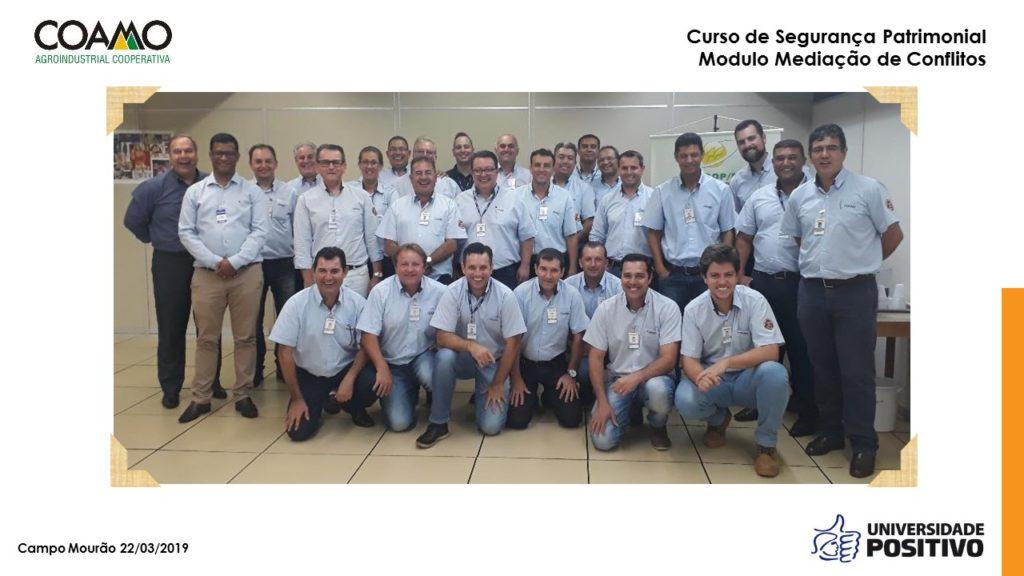 Treinamento in company - Mediação de Conflitos - COAMO - Campo Mourão