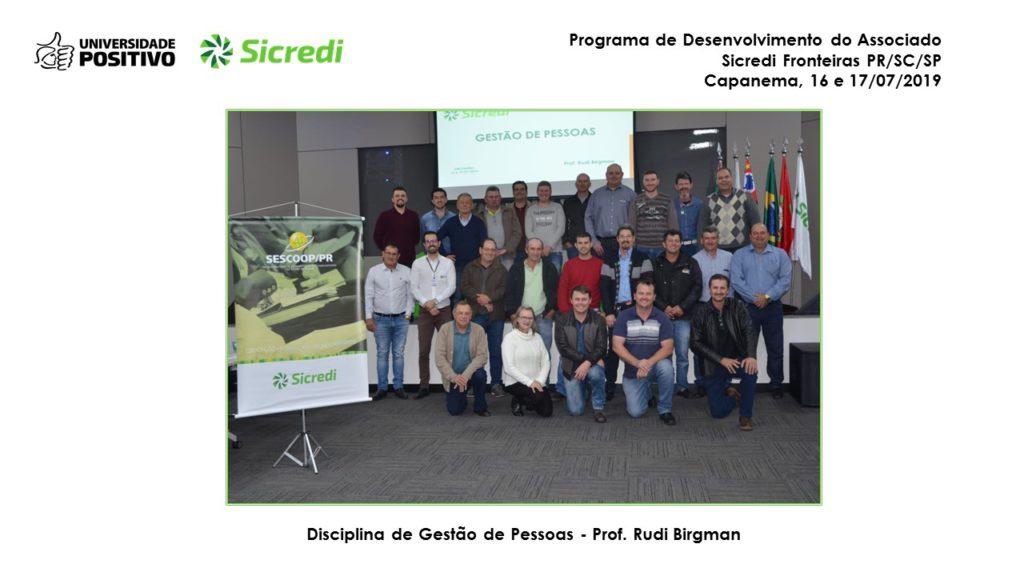 Programa de Desenvolvimento do Associado - Sicredi Capanema - PR