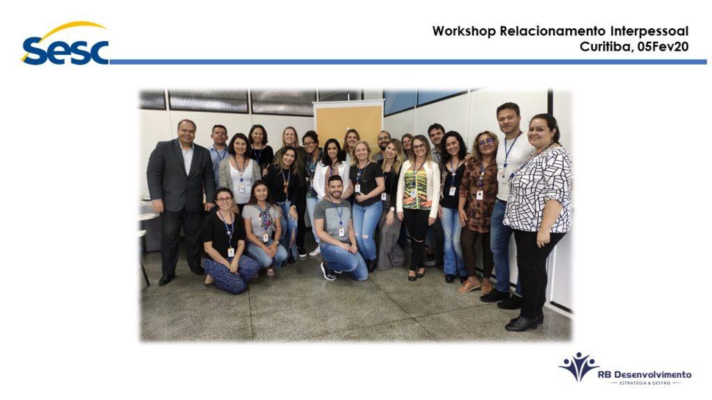 Workshop Relacionamento Interpessoal SESC Curitiba